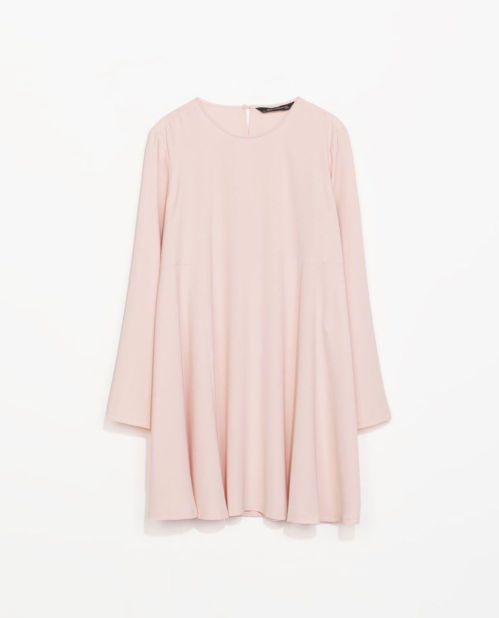 Pin Von Shannon Kirstie Auf S T Y L E Babydoll Kleid Kleid Altrosa Kleider Fur Frauen