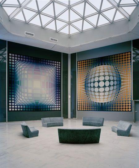 Vasarely Fondation, Switzerland