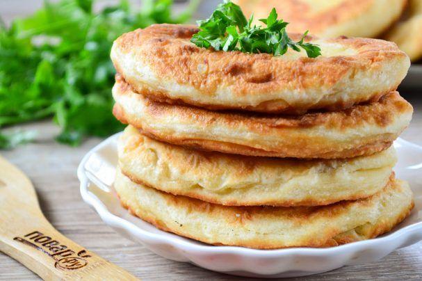 Тонкие пирожки с картошкой - пошаговый рецепт с фото на ...