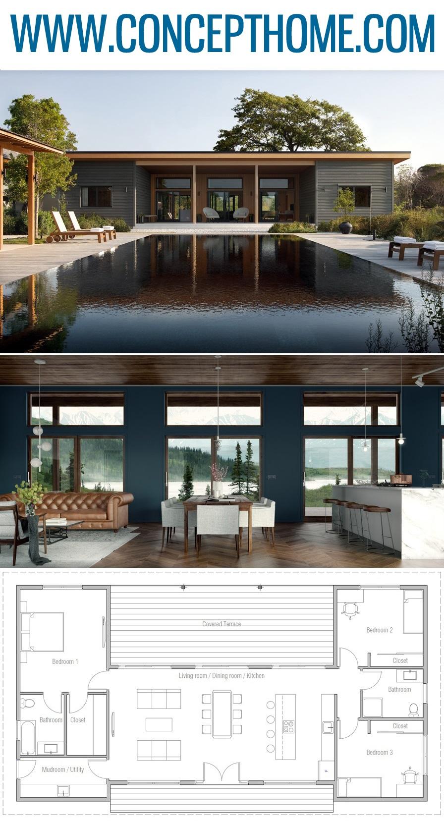 Plan de Maison, Architecture, Projet de Maison #plandemaison #maison #architecture #projetdemaison