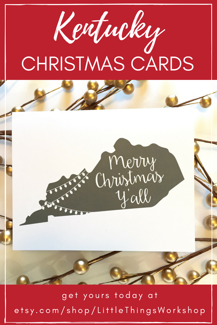Send Christmas Greetings From Kentucky With These Fun Cards These