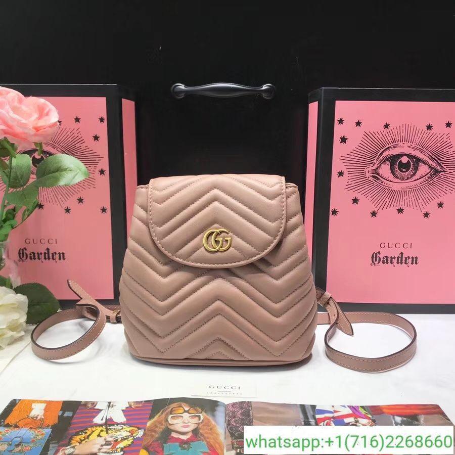 1ebf621047c Gucci GG Marmont Matelassé Backpack 528129