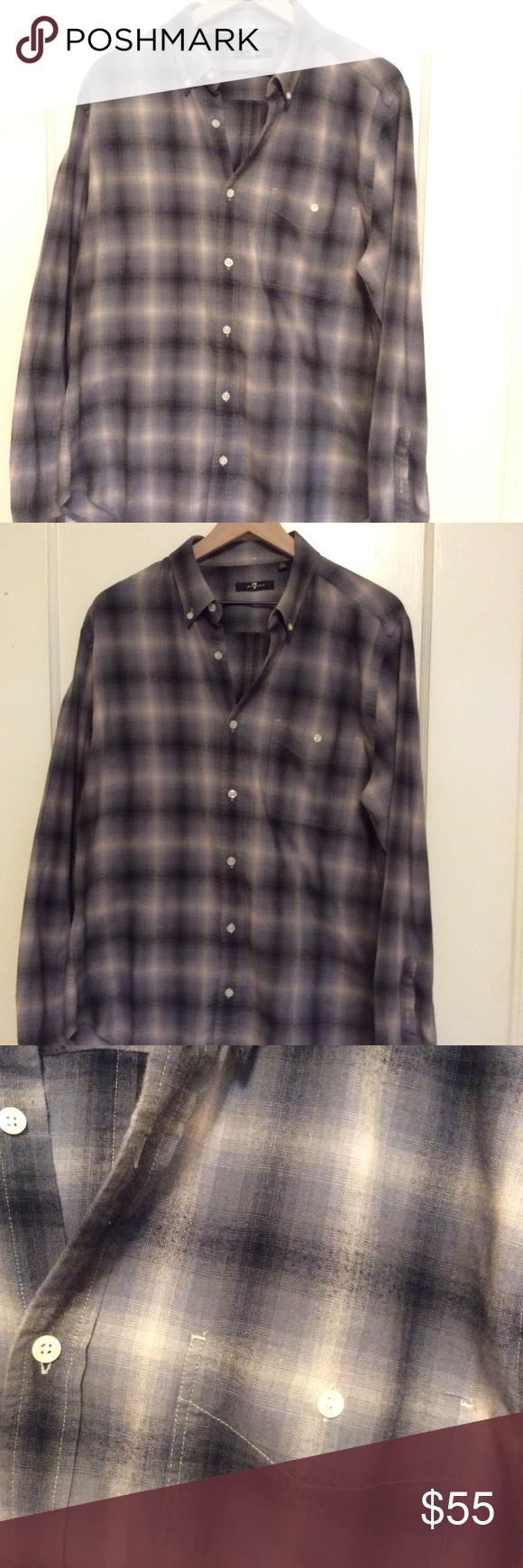 muted plaid shirt