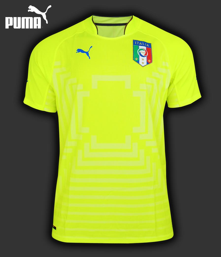 Goalkeeper Shirt Puma FIGC Italia Replica