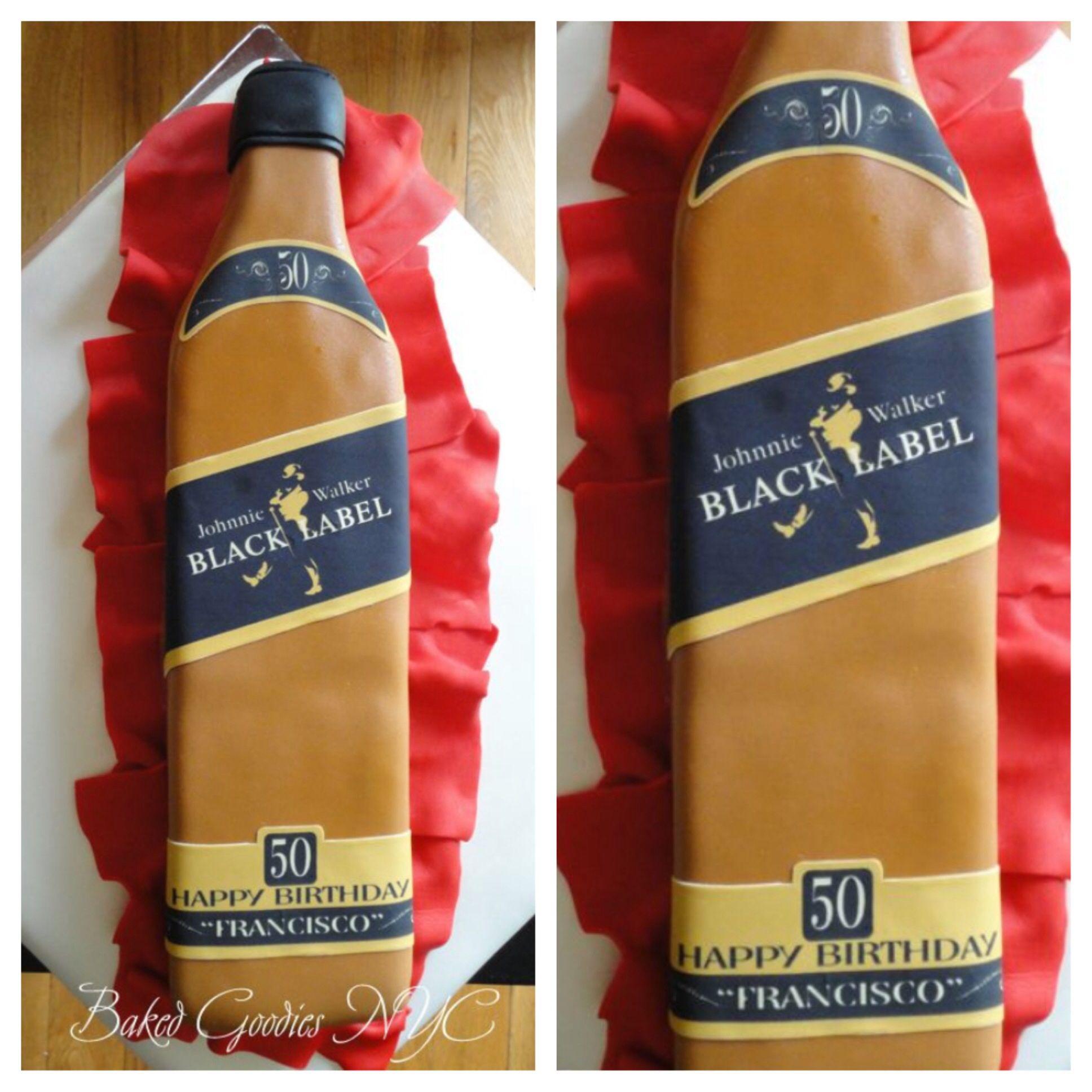 JOHNNY WALKER CAKE