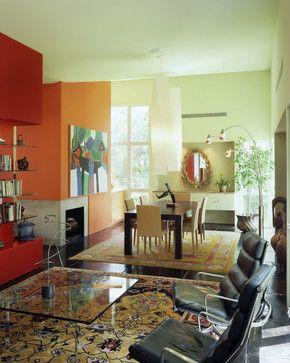 Impluvium House Modern Dining Room Austin Webber Studio