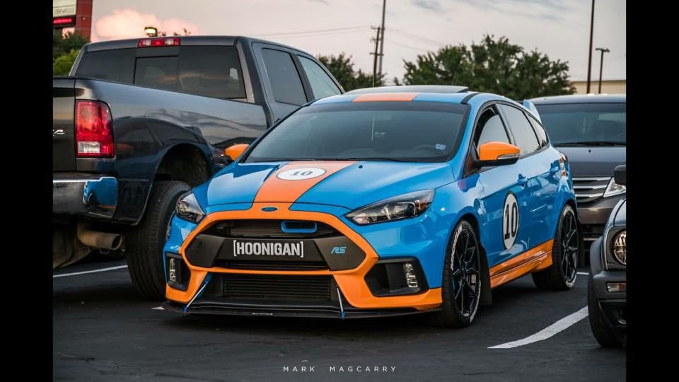 Gulf Focus Rs Mk3 Focus Rs Ford Focus Ford Focus Rs