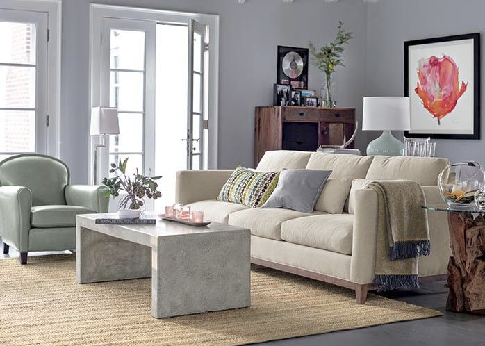 Crate and barrel living room decor we like pinterest - Crate and barrel living room ideas ...