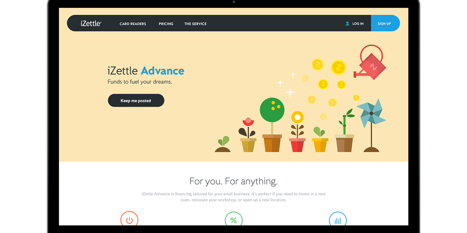 Izettle Advance Is Like Square Capital For Small Uk And European