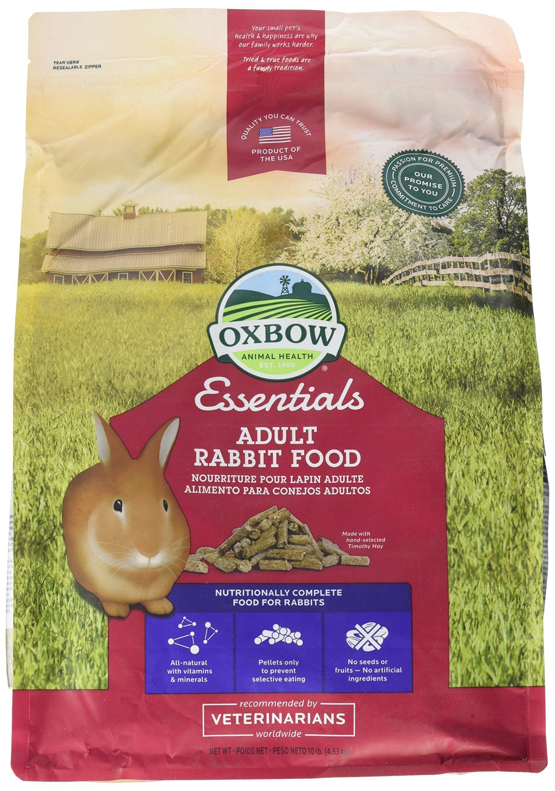 Oxbow animal health bunny basics essentials adult rabbit