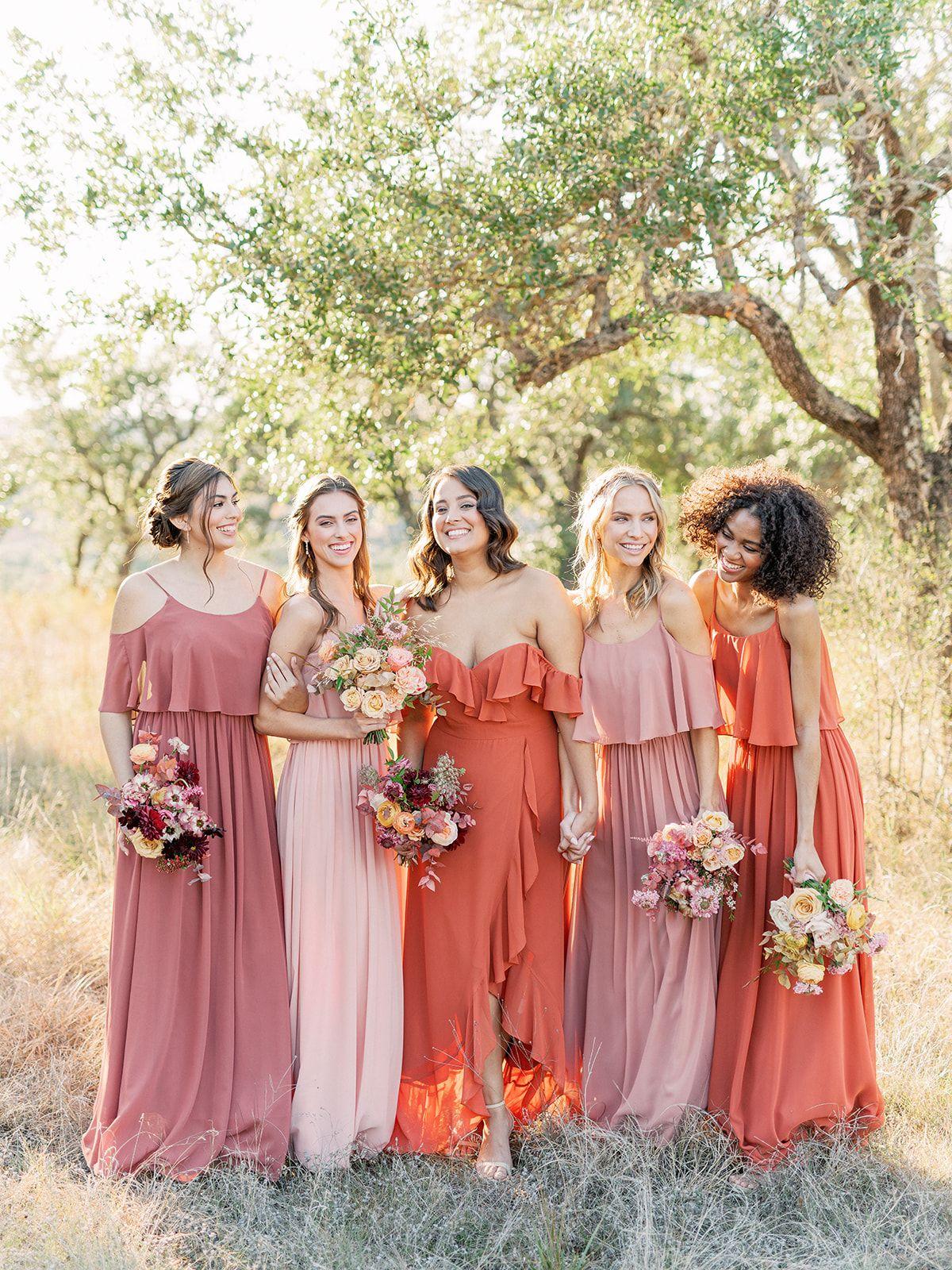 Boho Bridesmaid Dresses Bridesmaid Dresses Boho Blush Groomsmen Attire Rose Bridesmaid Dresses [ 1600 x 1200 Pixel ]