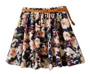 *HOT* Short Flowing Skirts w/ belt {30 styles} – just $2.99!!