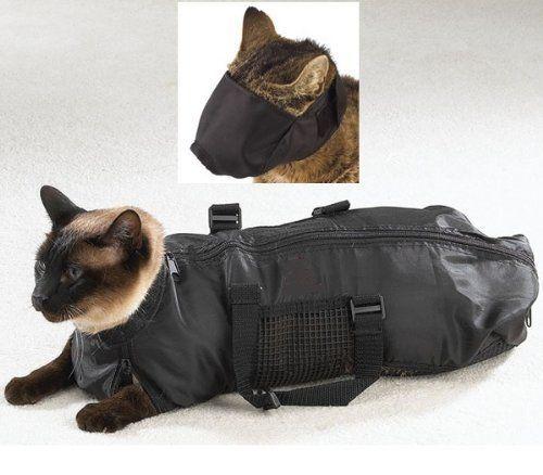 Cat Restraint Bag For Giving A Pill