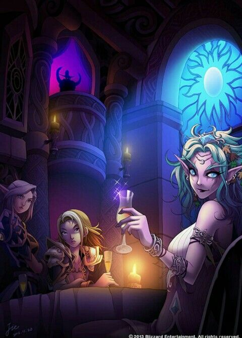 Vereesa Jaina and Tyrande