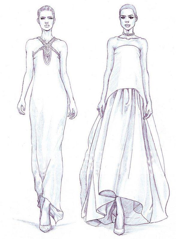 Malvorlagen Mode für Erwachsene: zum Druck 37   fashion coloring ...
