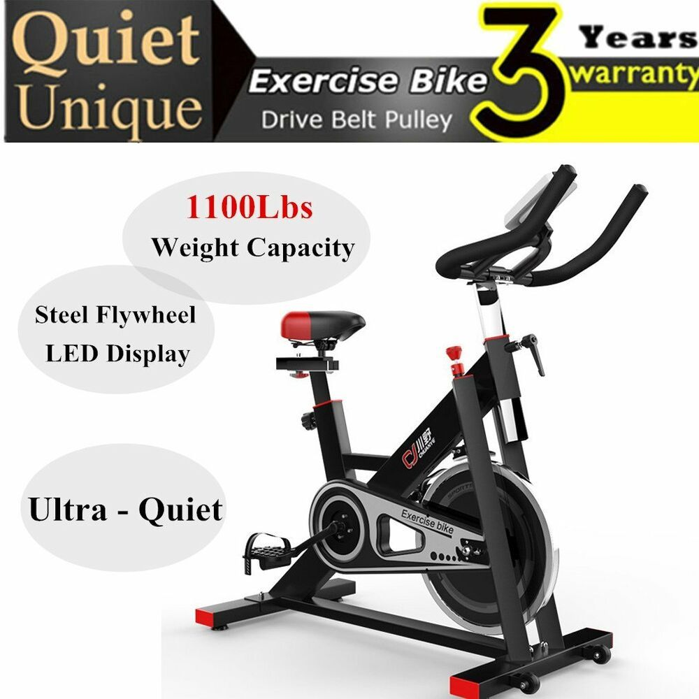 Exercise Bike Cardio Fitness Gym Cycling Machine Workout Training