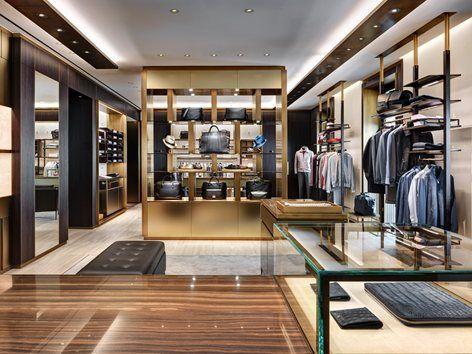 Brioni flagship store milano milan 2014 park associati for Store design milano