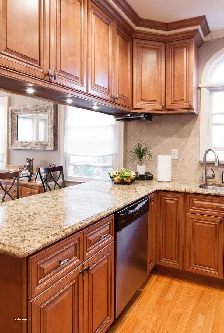 White Marble Countertops With Maple Cabinets in 2020 ... on Maple Cabinets With White Countertops  id=17983