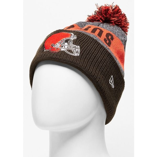... New Era Beanie Sideline Bobble Knit NFL Cleveland Browns official get  cheap f00a4 20156 ... 46ac56526