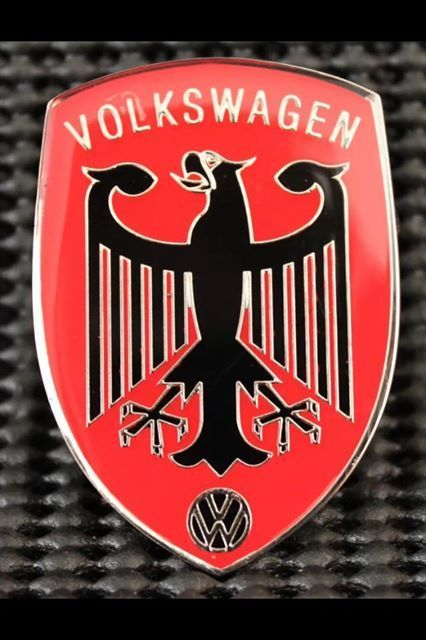 volkswagen emblem logo badge automobile  plates hood ornaments  badges vw