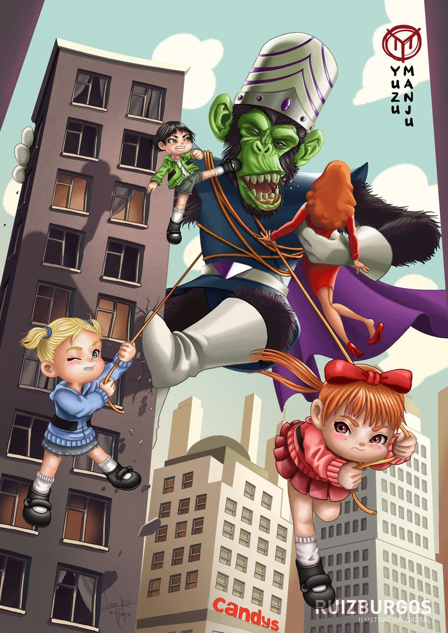 the powerpuff girls 15th anniversary by onlymilo deviantart com on