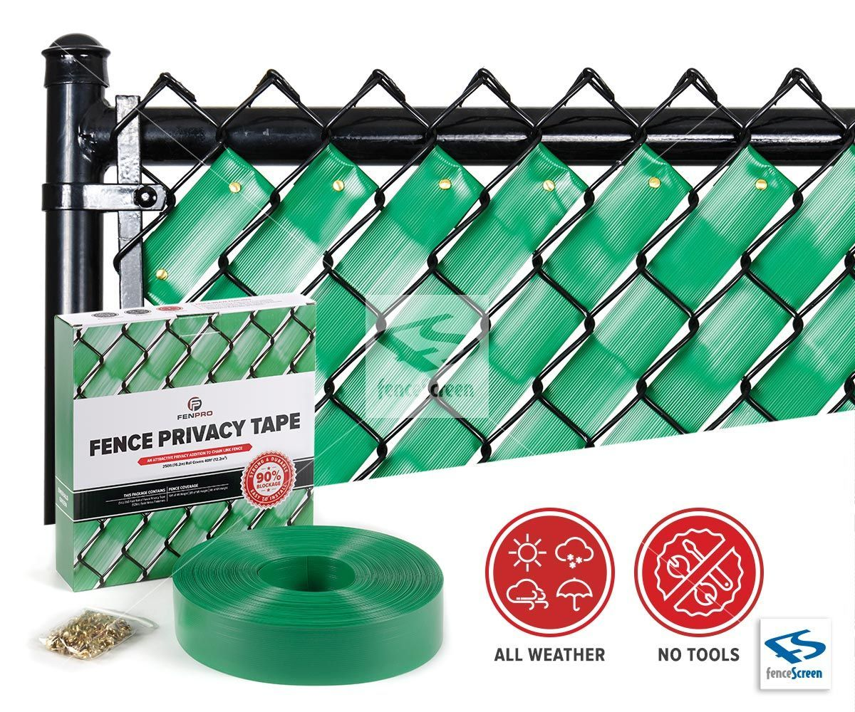 Awesome Fence Privacy Tape For Chain Link Fences By Fenpro