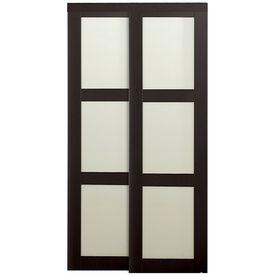 ReliaBilt Sliding Closet Interior Door (Actual: X