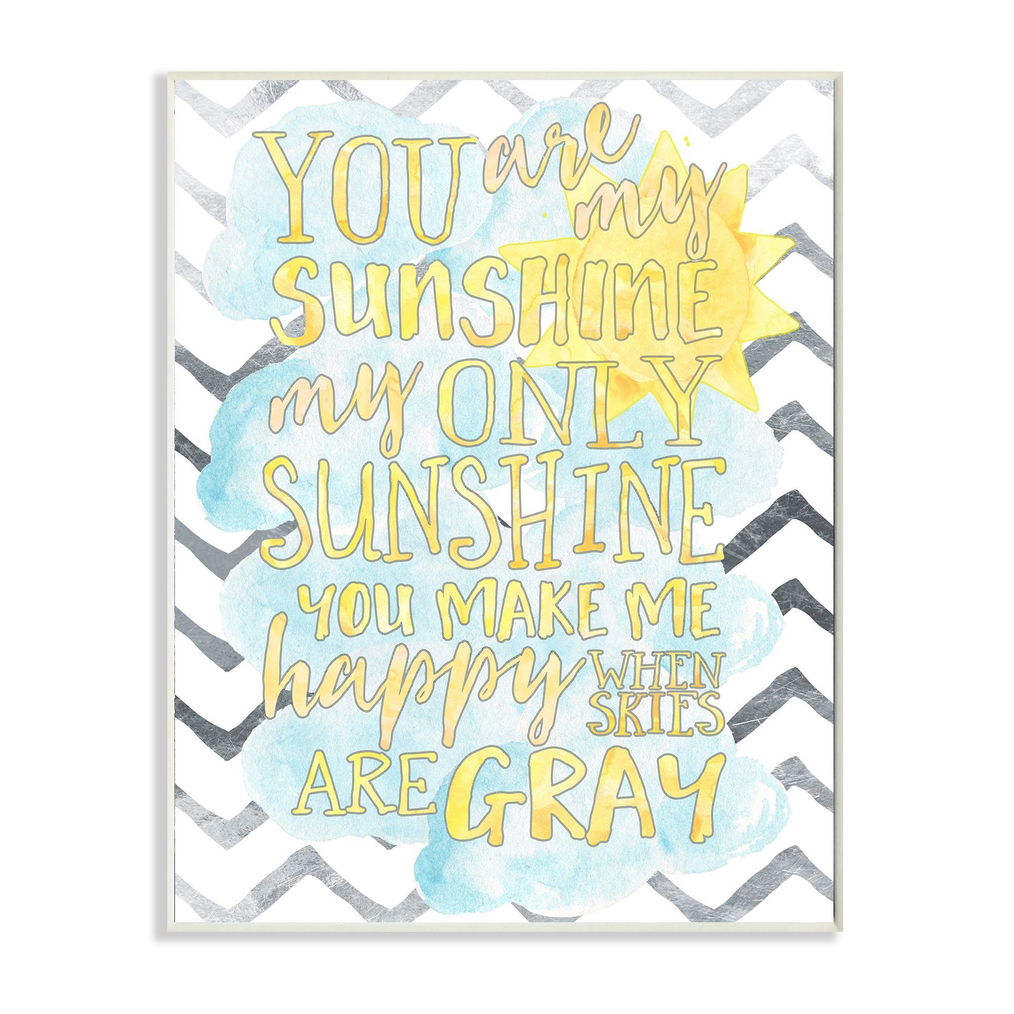 Hang this brightly colored and inspirational stretched canvas wall ...