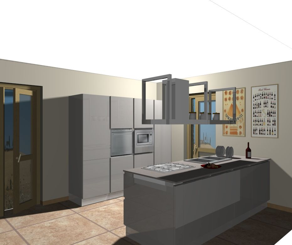 progetto cucina senza pensili | cucine Domus arredi | Pinterest | Cucina