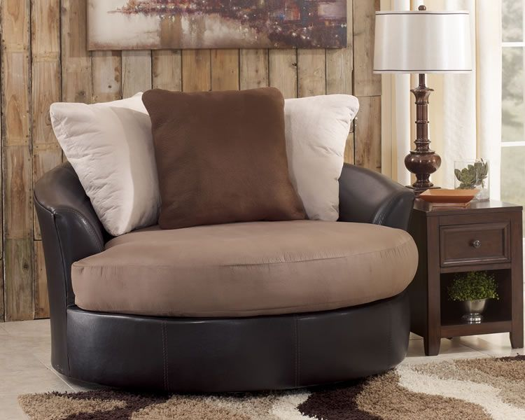 Awesome Round Oversized Swivel Accent Chair. I Can Already Tell There Will Be A Lot  Of · Living Room ...