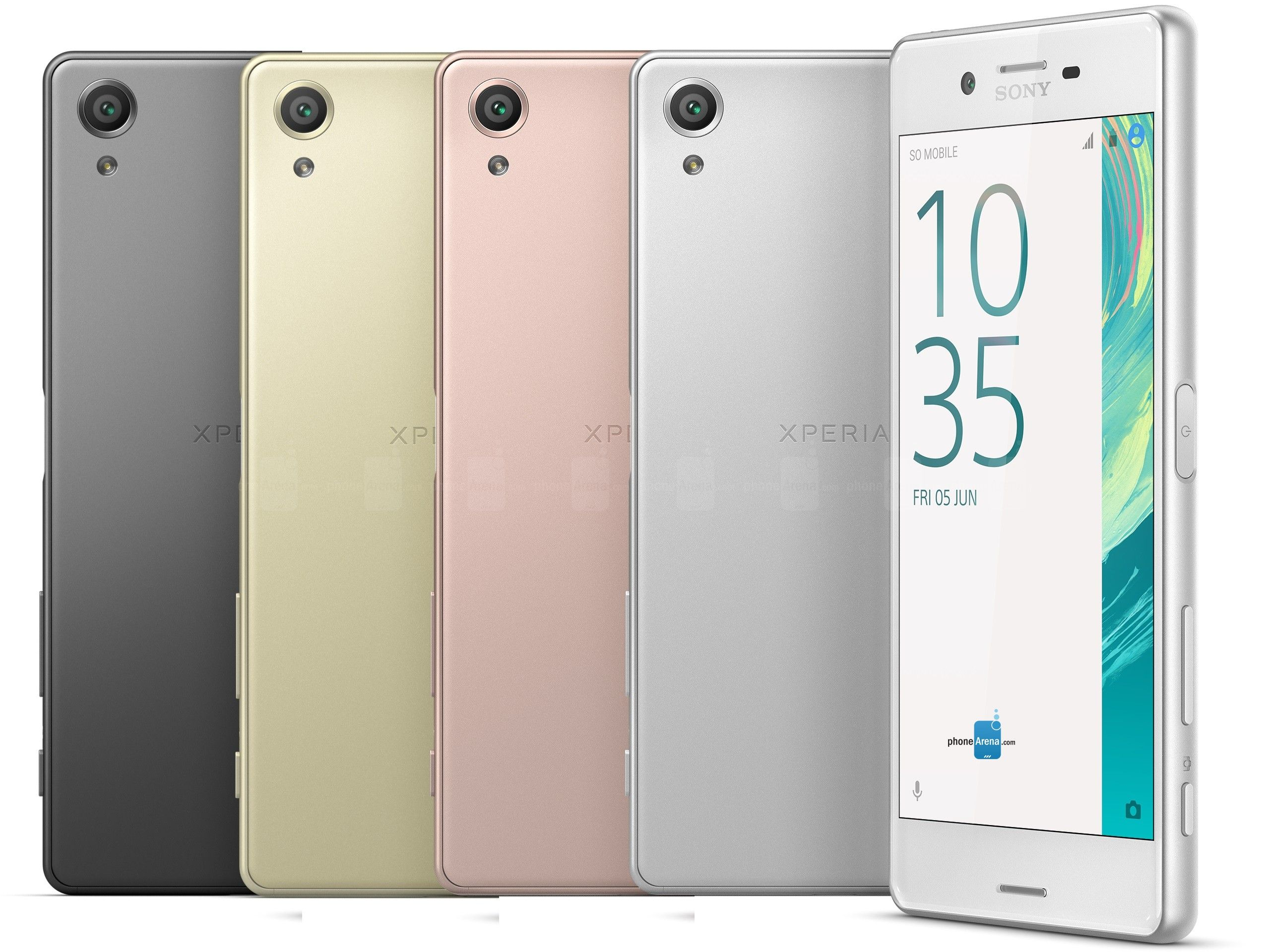 Sony Announces The Xperia X Square In The Middle Of Its Brand New