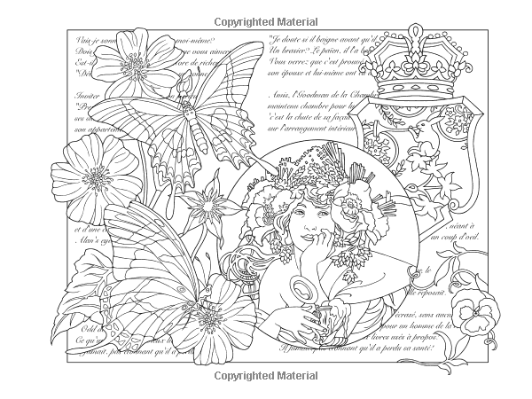 Amazon.com: ESCAPES Collage Art Coloring Book (Adult ...