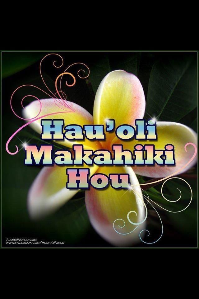 happy new year hawaiian style