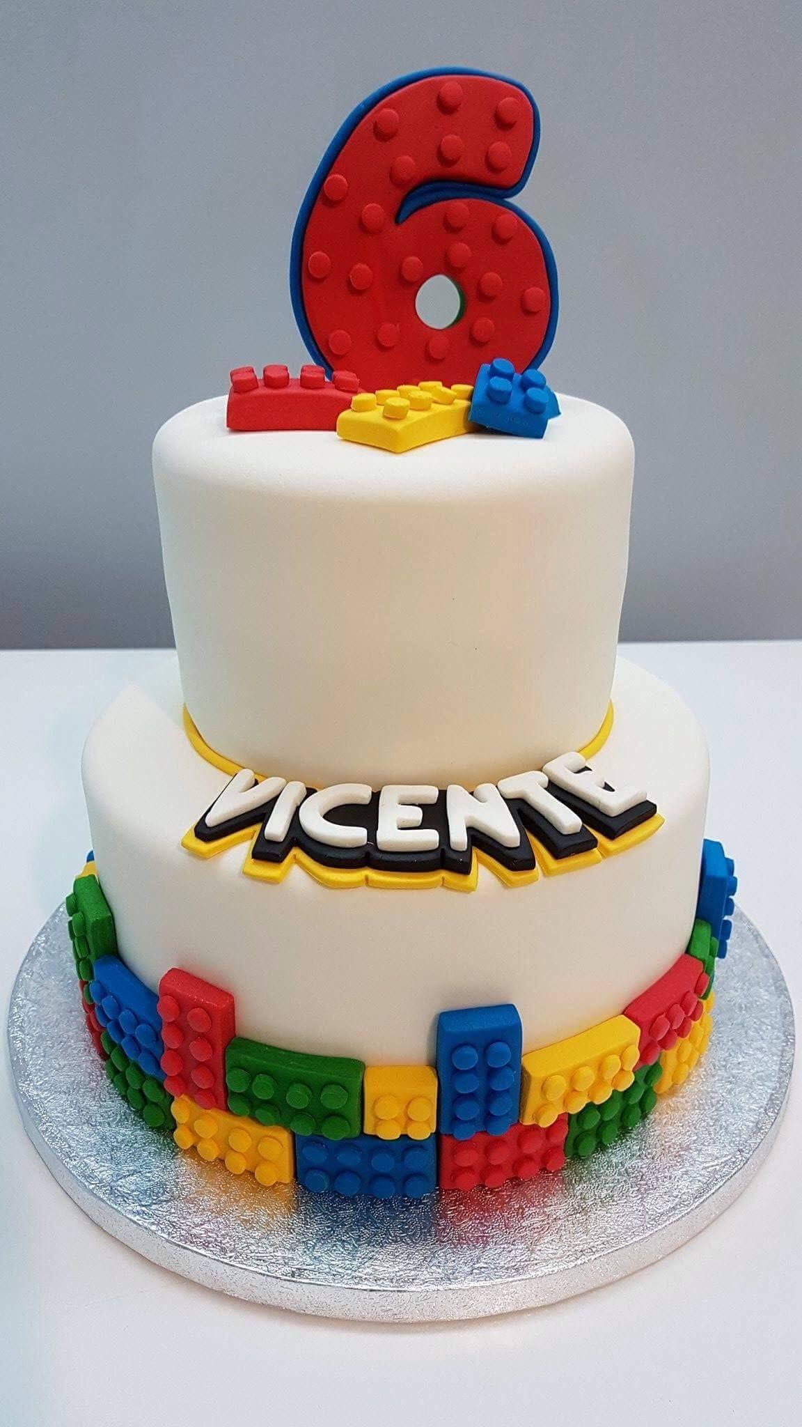 Wondrous Bolo Lego 50 Ideias De Decoracao Incriveis Para A Festa Gift Funny Birthday Cards Online Alyptdamsfinfo