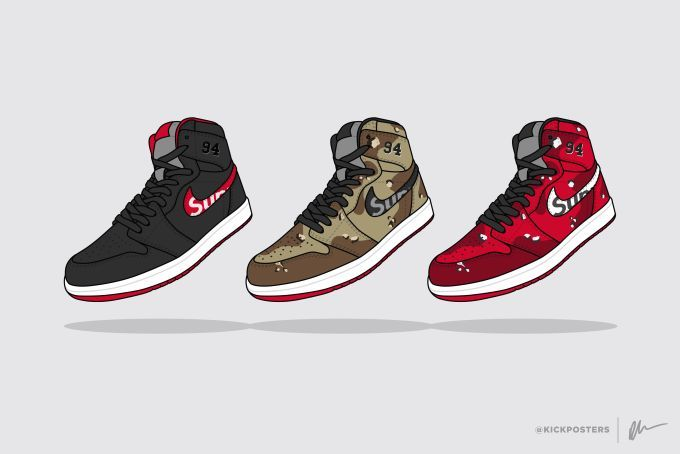 A History of Supreme's Nike Collaborations | Complex