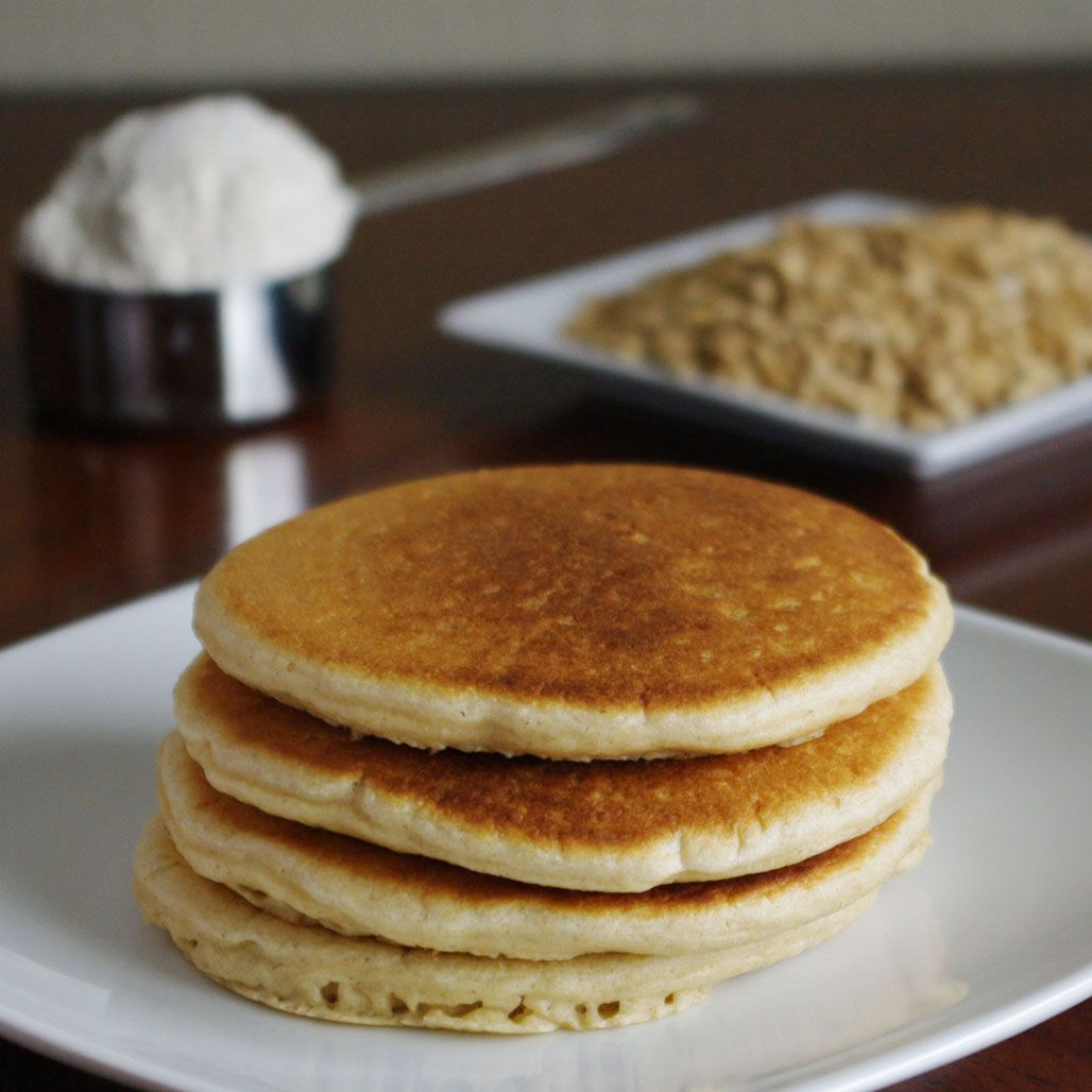 Oat flour pancakes old fashioned yummy stuff for Cenas sin cocinar