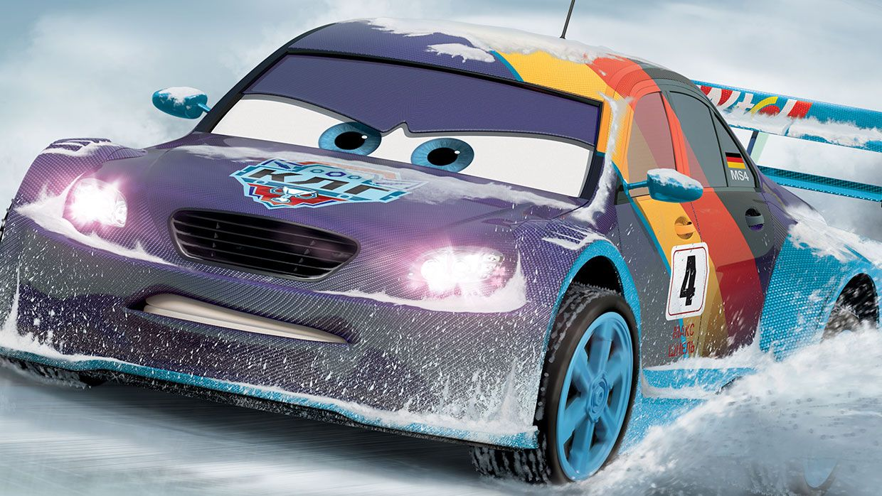 Max Schnell Cars Characters Disney Pixars Cars