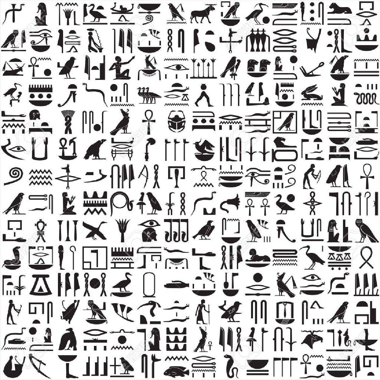 Ancient egyptian hieroglyphics clipart history of graphics art ancient egyptian hieroglyphics clipart biocorpaavc