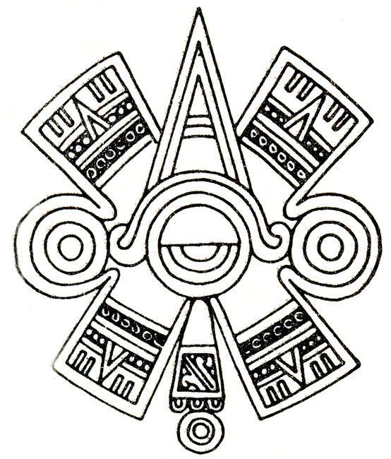 Aztec Ancient Drawing Google Search Aztec Symbols Pinte
