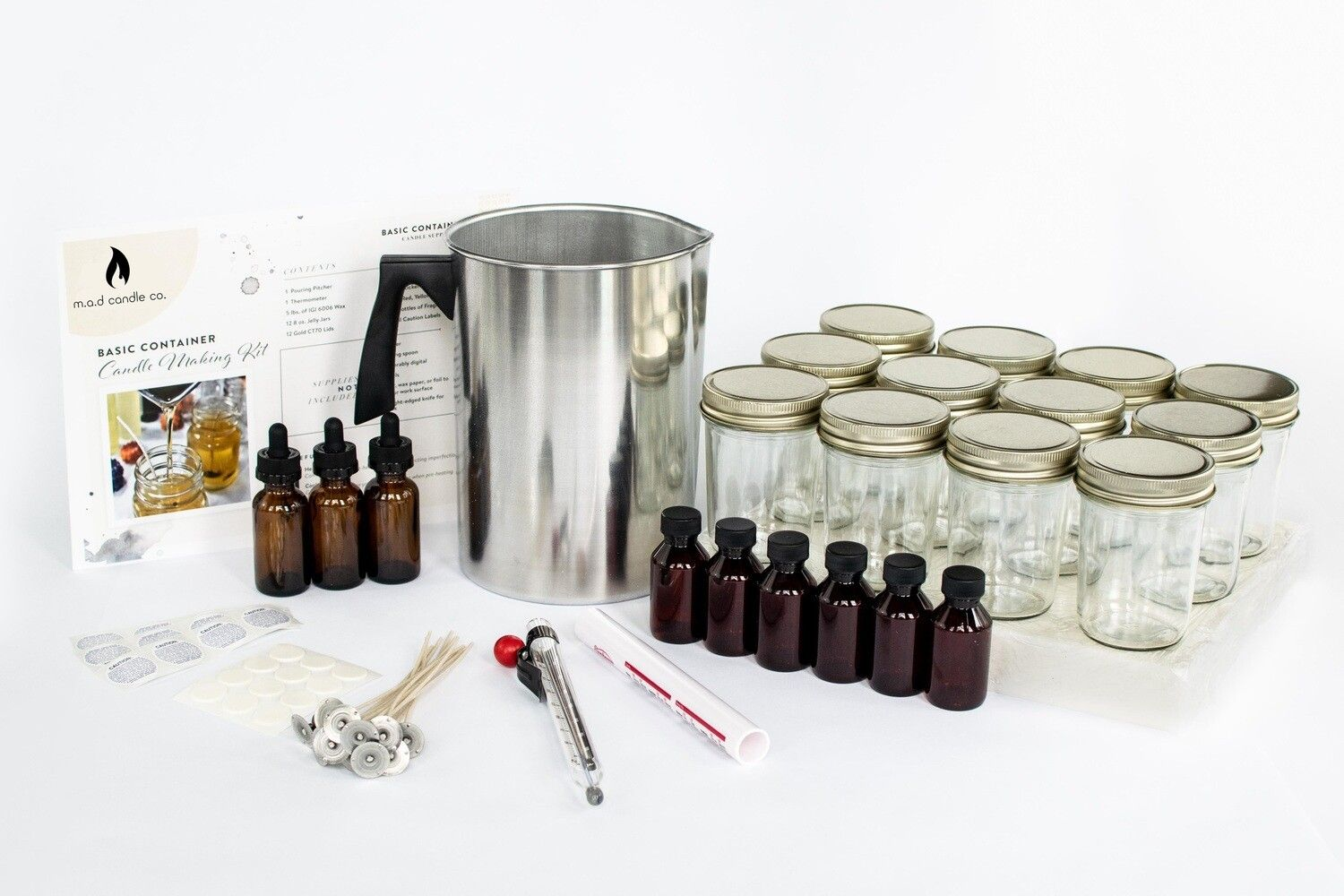 Basic Candle Making Kit candles candlemaking