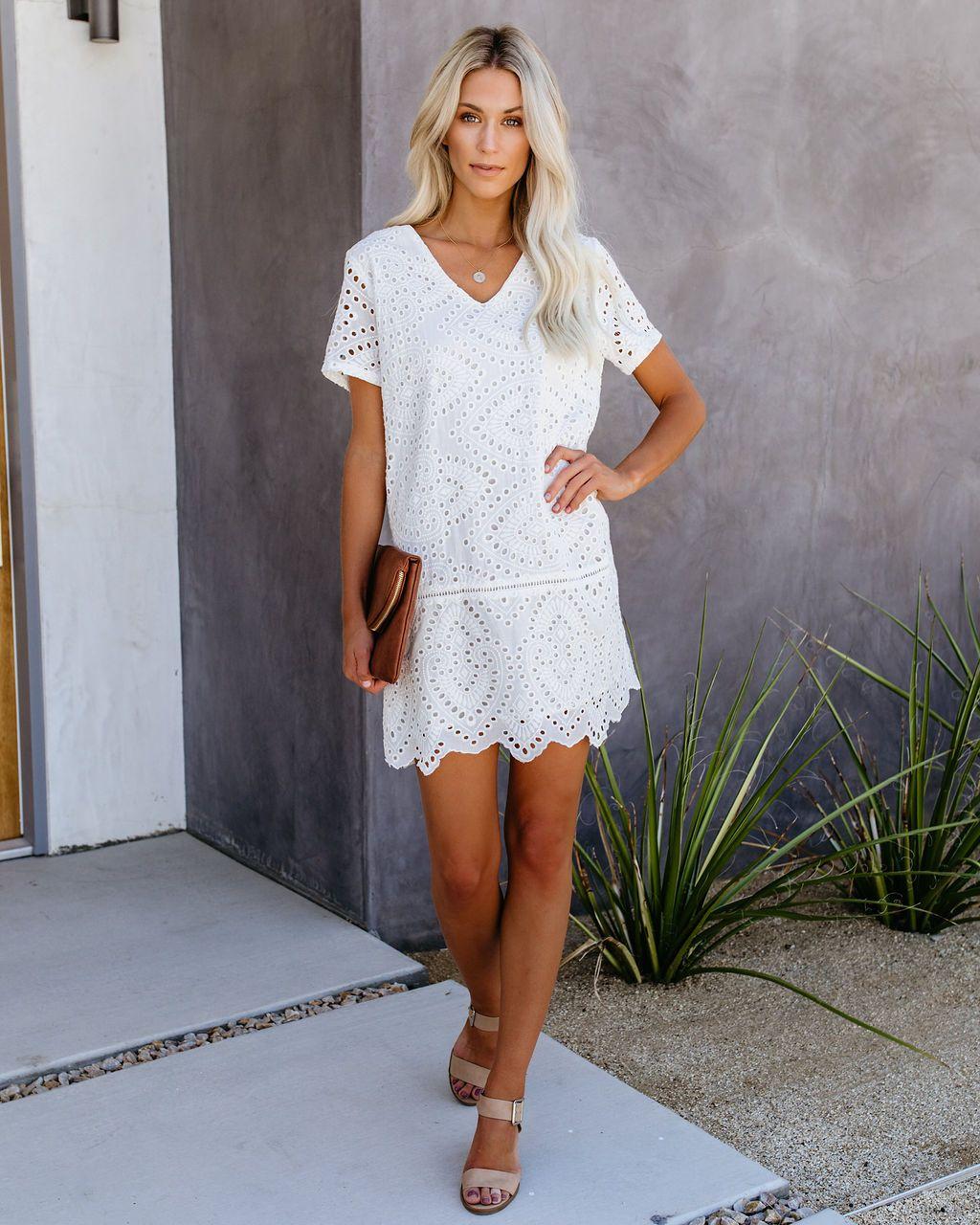 Don T Be Salty Cotton Eyelet Shift Dress Dresses Shift Dress Little White Dresses [ 1280 x 1024 Pixel ]