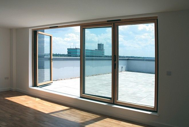 Good Apartment Folding Sliding Door System The SFK82 As A Balcony Opening
