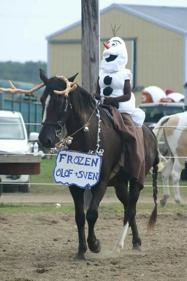 Olaf Halloween Snowman Costume For Cowboys And Cowgirls
