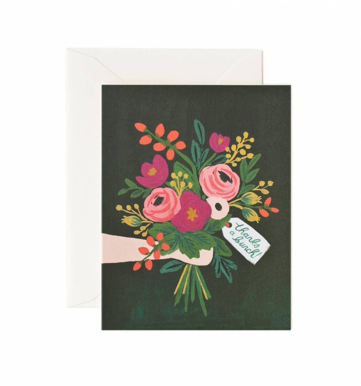 Thanks a bunch greeting card box sets box and letters thanks a bunch greeting card m4hsunfo Choice Image