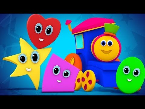 Bob The Train Shapes Song For Kids And Baby Adventure With