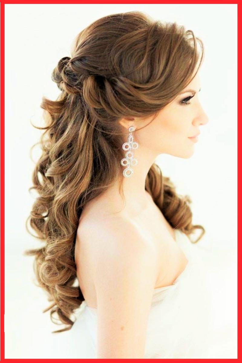 Festliche Frisuren Lange Haare Offen Locken Peinado Boda