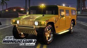 Hummer H1 Midnight Club 3 Jogos