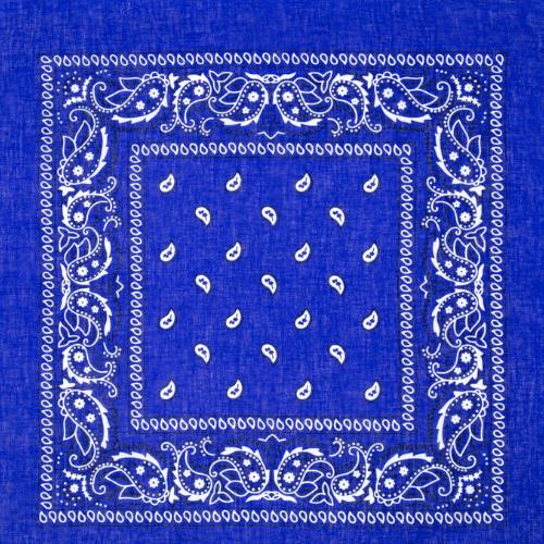 Bandana Cotton Royal Blue Bandanas For Your Health Royal Blue Cool Bandanas Bandana