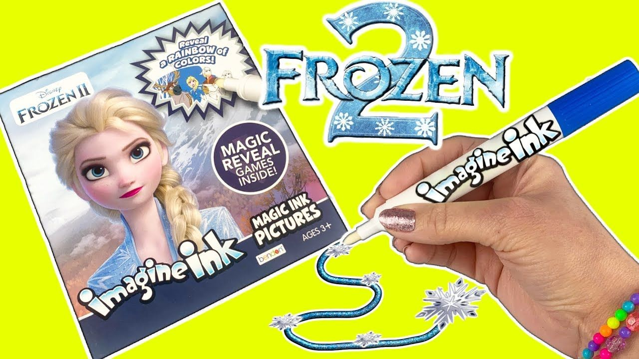 Disney Frozen 2 Magic Rainbow Colors Imagine Ink Coloring Book Games Elsa Anna Olaf Nokk Youtube Disney Frozen Frozen Coloring Pages Coloring Books