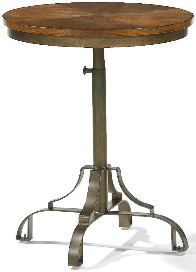 349be08a8fa1c Flexsteel Storehouse Round Accent Table - Colder s Furniture and Appliance  - End Table Milwaukee